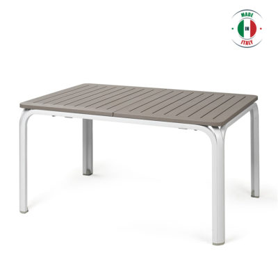 Alloro Taupe dining table
