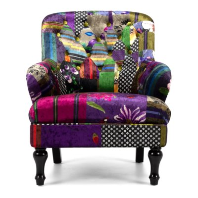 PATCH WORK ARM CHAIR