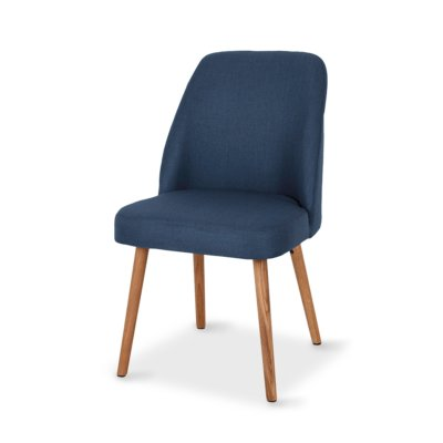 MELLE BLUE DINING CHAIR