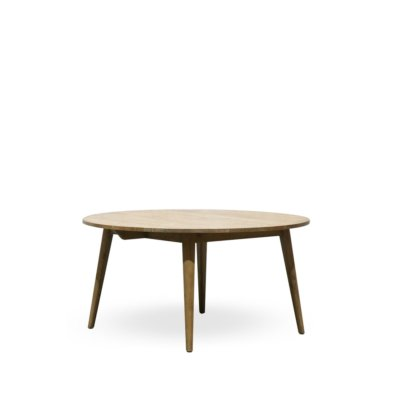 RECYCLE OAK ROUND TABLE