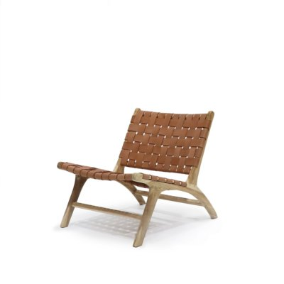 HAYES TAN LOW CHAIR