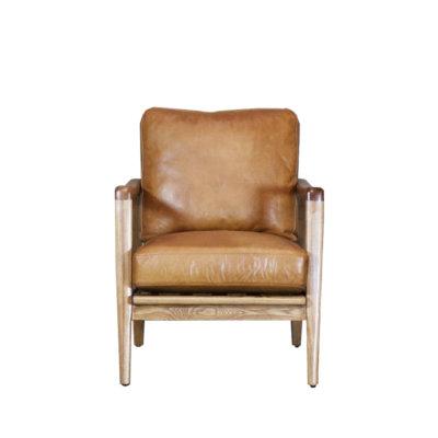 Reid Leather Armchair