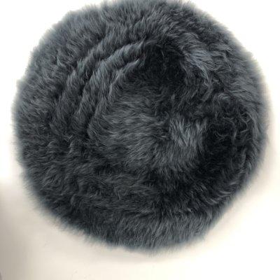 SHEEPSKIN SEAT PAD CHARCOAL