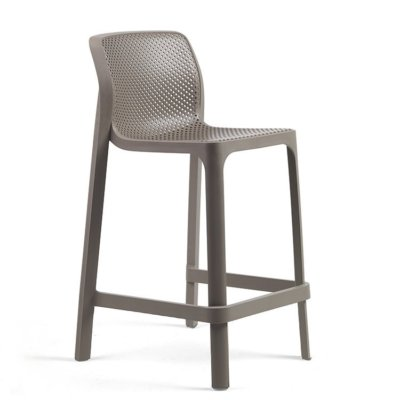 NOOD OUTDOOR KITCHEN BARSTOOL TAUPE