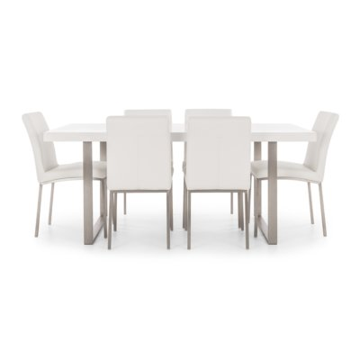 MADRID WHITE DINING TABLE