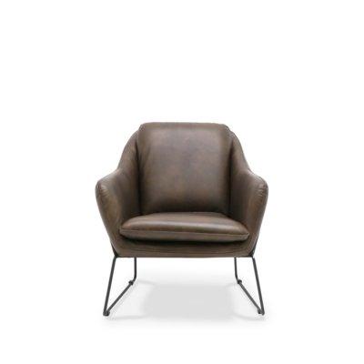 workshop leather armchair
