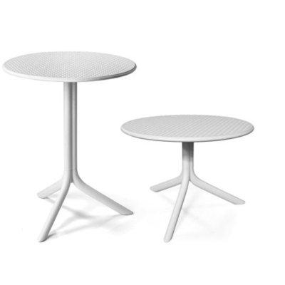 Patio table white
