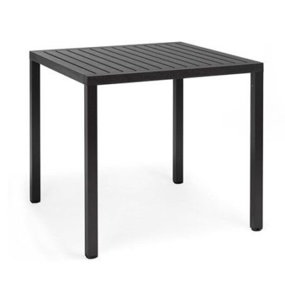 CUBE CHARCOAL 70X70 TABLE