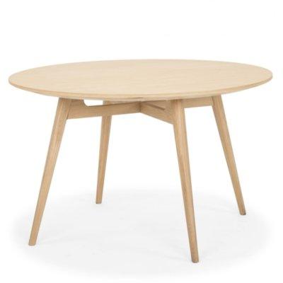 LINEA LIGHT OAK ROUND TABLE