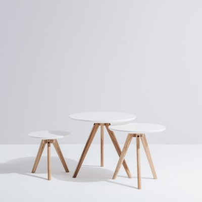 Radius nest of table