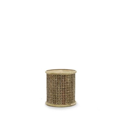 BAMI AGED NATURAL SIDE TABLE