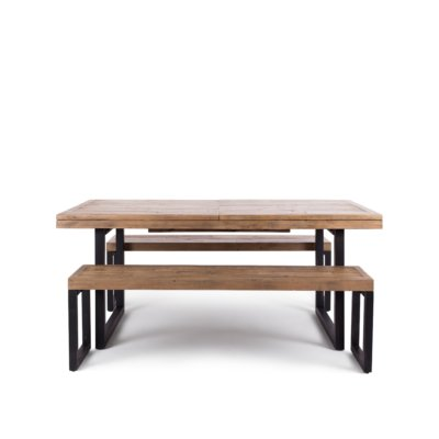 FORGE 180 EX TABLE WITH 2 BENCH SEATS