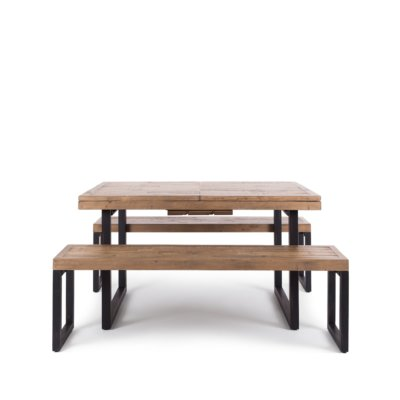FORGE 140 EX TABLE WITH 2 BENCH SEATS