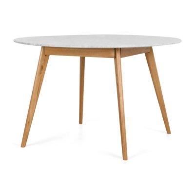 RADIUS MARBLE DINING TABLE