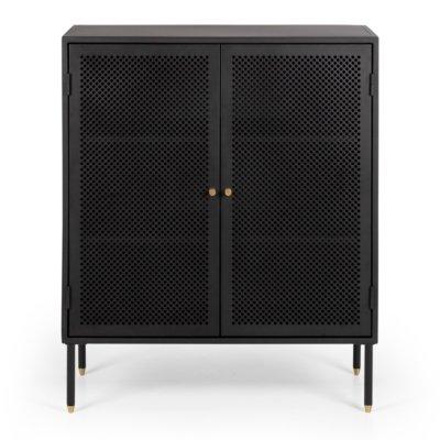 dawn cabinet black