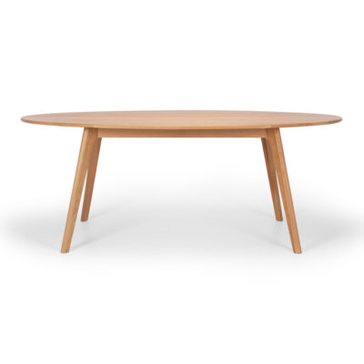 OSLO OVAL SOILD OAK TABLE