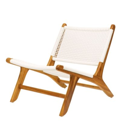 LOW HAYES CHAIR WHITE