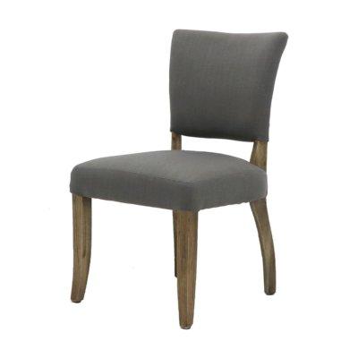 Crane linen dining chair